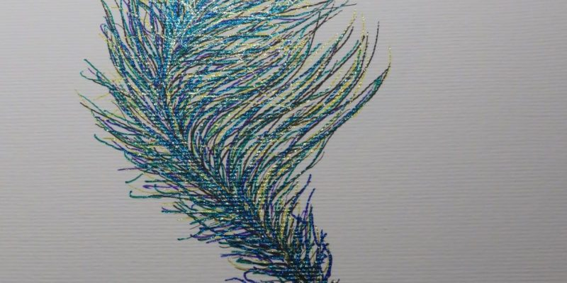 iridescent-feather-pen-ink-marker-drawing-Eithne-Warren-https://insideheartspace.com